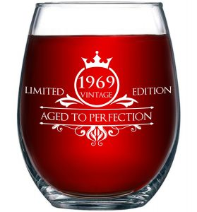 1969 limited edition-Aged to Perfection Glass